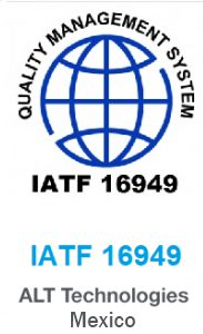 IATF certificate for ALT Mexico