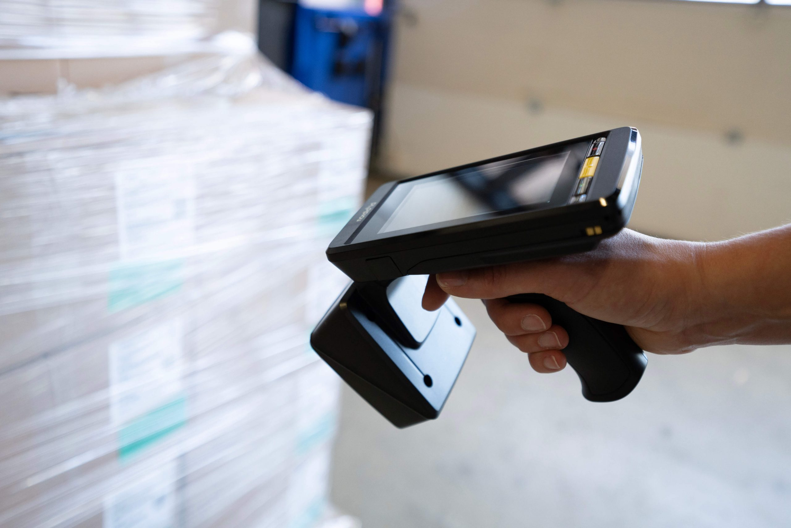 RFID reader in action